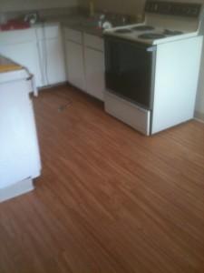 floating vinyl plank flooring kitchen picture