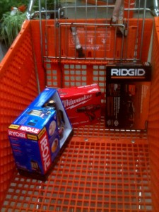 returnable items to exchange for discounted home depot gift card