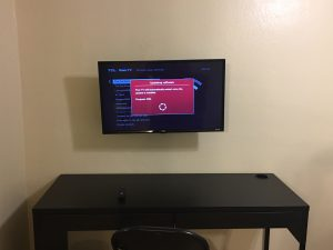 TCL Smart TV used as computer monitor