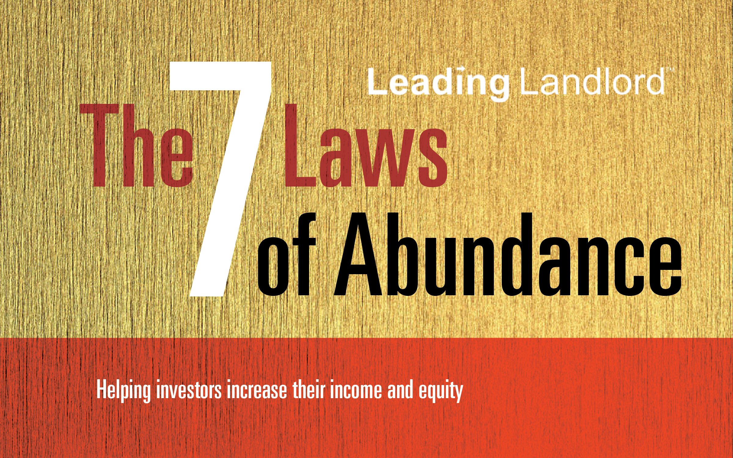 The 7 Laws of Abundance
