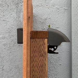 Cool Keyless Lock for Wood Gates: the YardLock | Leading