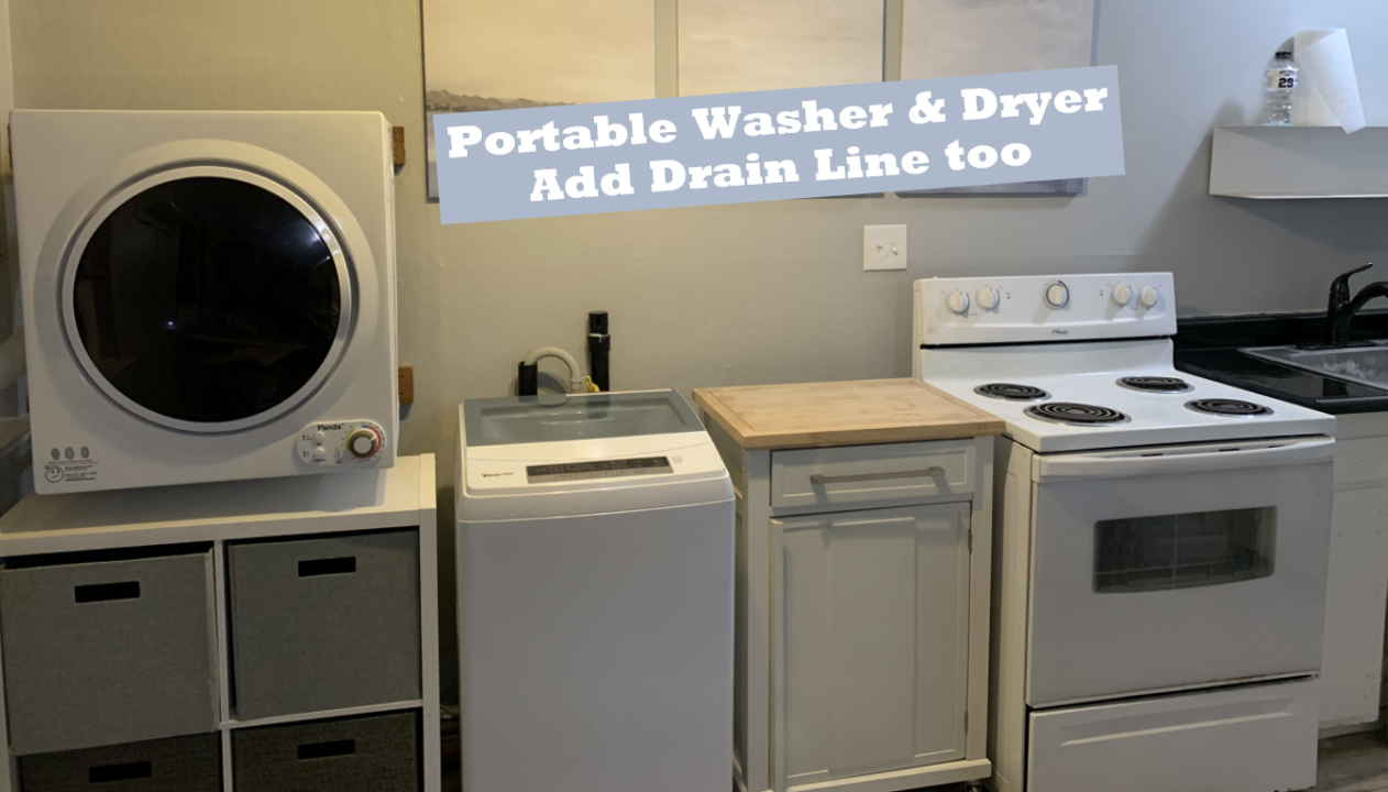 How to Install a Portable Washer-Dryer in a Small Apartment